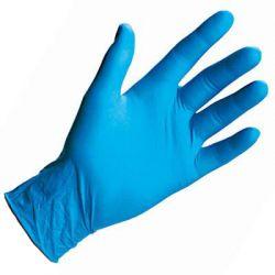 100szt BEZPUDROWE RĘKAWICZKI nitrylowe rękawice M
