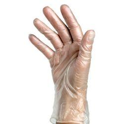 100x RĘKAWICZKI WINYLOWE BEZPUDROWE rękawice M
