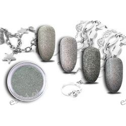 Efekt SILVER FLASH żywe srebro na paznokciach HIT!