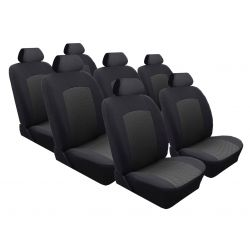 SEAT ALHAMBRA 7 OSOBOWY / pokrowce szyte na miarę