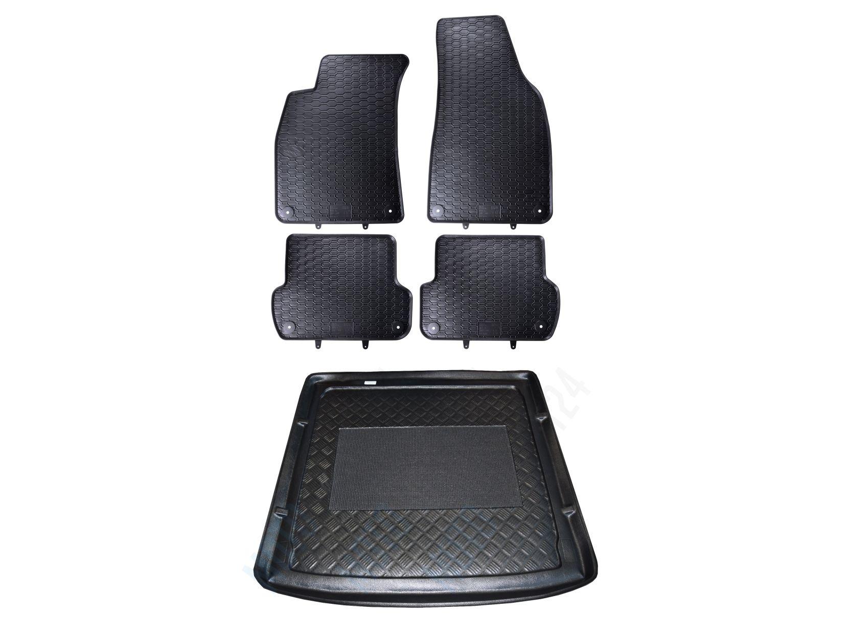 Dywaniki Mata Bagażnika Do Audi A4 B6 B7 Kombi Kpl Na Bazarekpl