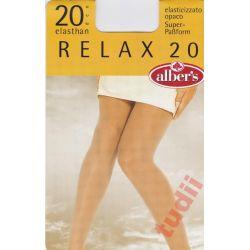 Alber's R3346 rajstopy RELAX 20 DEN  4 dore