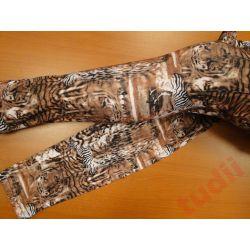 Damskie legginsy G5675 długie wzór zwierzęcy L/XL
