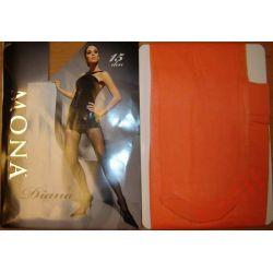 Mona Diana Z1202 rajstopy damskie 3 arancia