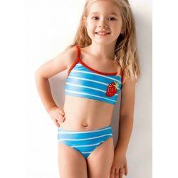 Moraj B1618 strój kąpielowy dziewczęcy 110 - 116