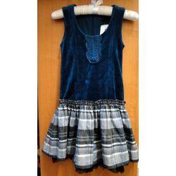Wójcik W2030 Szmaragd 1 - sukienka 134 cm