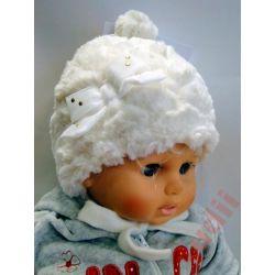 Pupill Anielka G3749 czapka dziecięca zima 42-44
