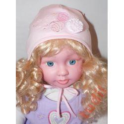 Pupill Różyczka G1329 czapka dziecięca  40-42 cm