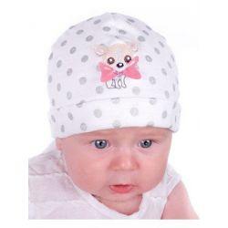 Pupill Florcia G1325 czapka dziecięca  44-46 cm