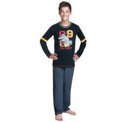 Wadima 60422 G9846 piżamka piżama chłopieca 146 cm