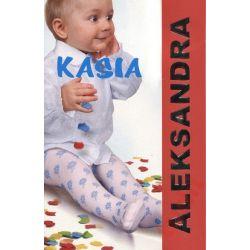 Aleksandra Kasia X8512 rajstopy 68 - 74 cm białe