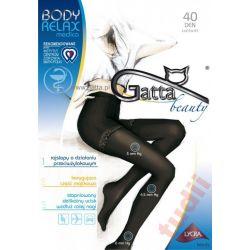 Gatta X3507  Body Relax rajstopy 40 DEN 4 visone