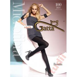Gatta Rosalia A0913 rajstopy 100 DEN 4 Blu Jeans
