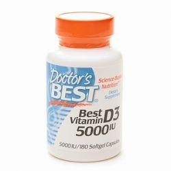 DR BEST - WITAMINA D3 5000mg 180k VEGE - USA