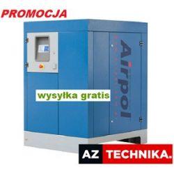 Kompresor śrubowy sprężarka AIRPOL 37 6,42m3/min.
