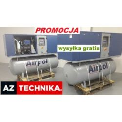 Kompresor śrubowy sprężarka AIRPOL KT 5 z osuszacz