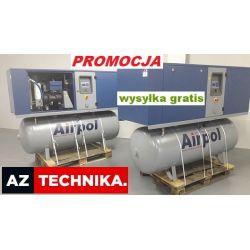 Kompresor śrubowy sprężarka AIRPOL K7 13, 15 bar