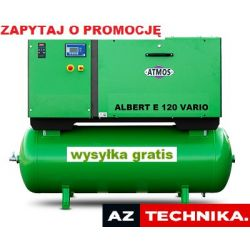 Kompresor śrubowy ATMOS Albert E100/S/500 Vario (z