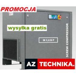 Kompresor śrubowy sprężarka SK 5,5 WALTER 850 L/mi