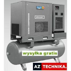 Kompresor śrubowy SKTG 5,5 Combo z osuszacz WALTER