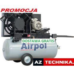 AIRPOL AB 25-380-240 416 L/min Kompresor bezolejow