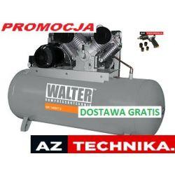 Kompresor tłokowy WALTER GK 1400-7,5/500  GRATIS (