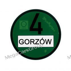 Plakietki ekologiczne Umweltzone,ekologia,EURO 4 Gadżety motoryzacyjne