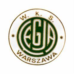 Legia Warszawa pin na stulecie LEGJA W.K.S.