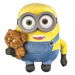 Minionki Maskotka Minionek Bob z misiem oryginał