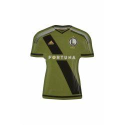 Legia Warszawa magnes koszulka wyjazdowa zielona