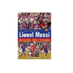 Lionel Messi książka sztuczki, triki i bramki