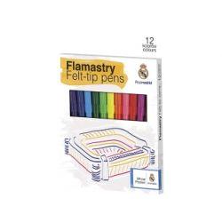 Real Madryt flamastry szkolne 12 kolorów 4489