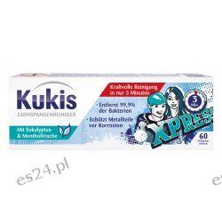 KUKIS Tabletki do  mycia APARATU NA ZĘBY 60szt Zdrowie, medycyna