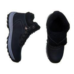 TRAPERY AB OCIEPLANE męskie buty zimowe CZARNE