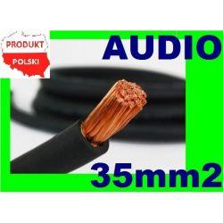35mm2 MOC Przewód Kabel Zasilający do Wzmacniacza RTV i AGD