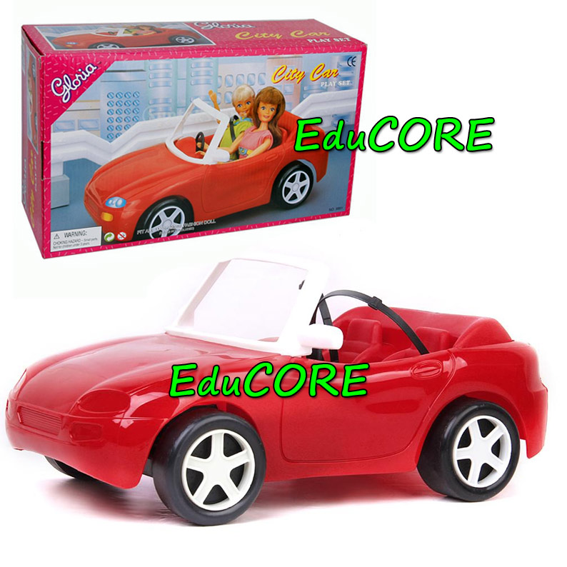 auto cabrio czerwone dla barbie educore na. Black Bedroom Furniture Sets. Home Design Ideas
