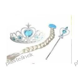 warkocz korona różdżka Elsa Frozen Kraina Lodu
