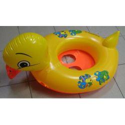 kaczka ponton pontonik koło do pływania piszczy