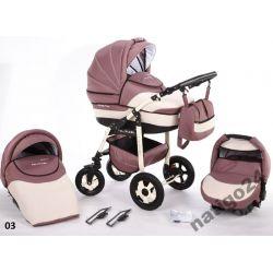 NOWOŚĆ Wózek dziecięcy DIADEMA 3w1 Z ODBLASKAMI