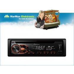 RADIO PIONEER DEH-1800UBA CD USB MP3  POMARAŃCZOWE