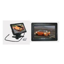 """UNIWERSALNY MONITOR LCD 7"""" DO KAMERY DVD TV"""