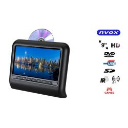 NVOX MONITOR NA ZAGŁOWEK DVD GRY FM USB MP3 CD 9