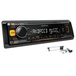 RADIO KENWOOD KMM103 USB MP3 POMARAŃCZOWE BMW E46