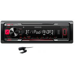 RADIO KENWOOD KMM-BT203 USB MP3 FLAC BLUETOOTH AUX