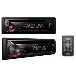 RADIO PIONEER DEH-1901UB + PILOT AUX CD USB MP3