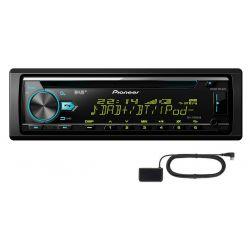 PIONEER DEH-X7800DAB RADIO DAB MP3 CD BT + ANTENA