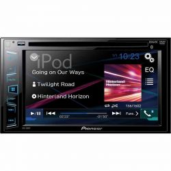 PIONEER AVH-280BT  RADIO 2DIN DVD CD MP3 BLUETOOTH
