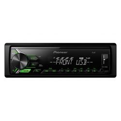 PIONEER MVH-190UBG RADIO ZIELONY USB MP3 AUX FLAC