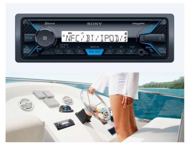 Sony Dsx M55bt Radio Do łazienki Bluetooth Usb Na Bazarekpl