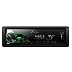 PIONEER MVH-180UBG RADIO ZIELONY USB MP3 AUX FLAC
